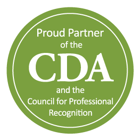 Logo for the CDA Council and CDA Credentials