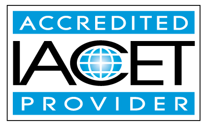 IACET accredited provider certification